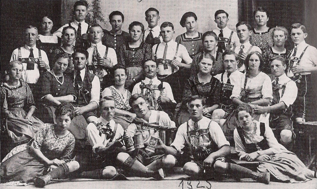 Waldburger Schuplattlergrupep von 1925
