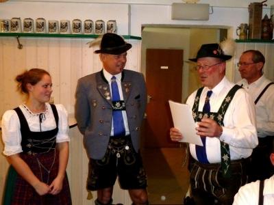 Bettina Haller, Wolfgang März, Franz Hämmerle, Hubert Egger